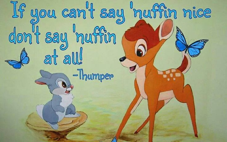 Bambi quote