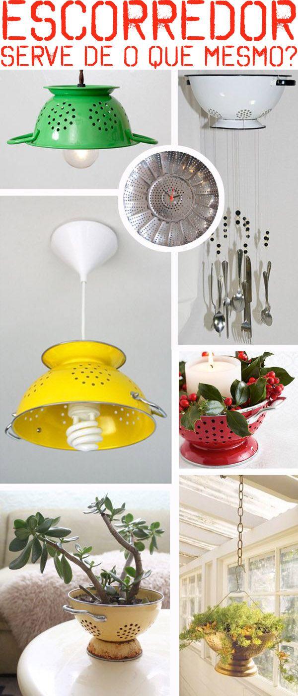 Ideias simples, de baixo custo e superbacanas para a decoração da sua casa.