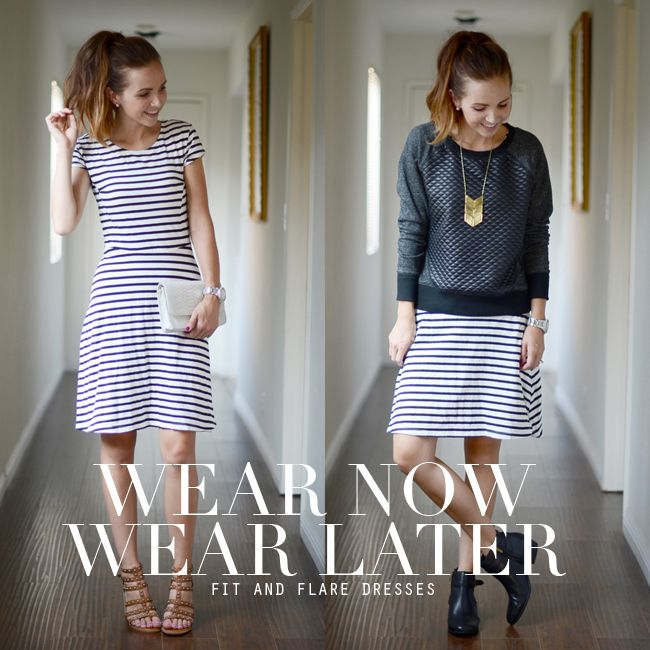 Tired of your dresses being wearable for only one season? Learn how to transition your summer dresses into fall with these inspired looks, only at Babble.
