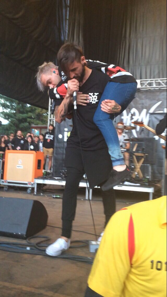 Tyler Carter and Michael Bohn, Issues.