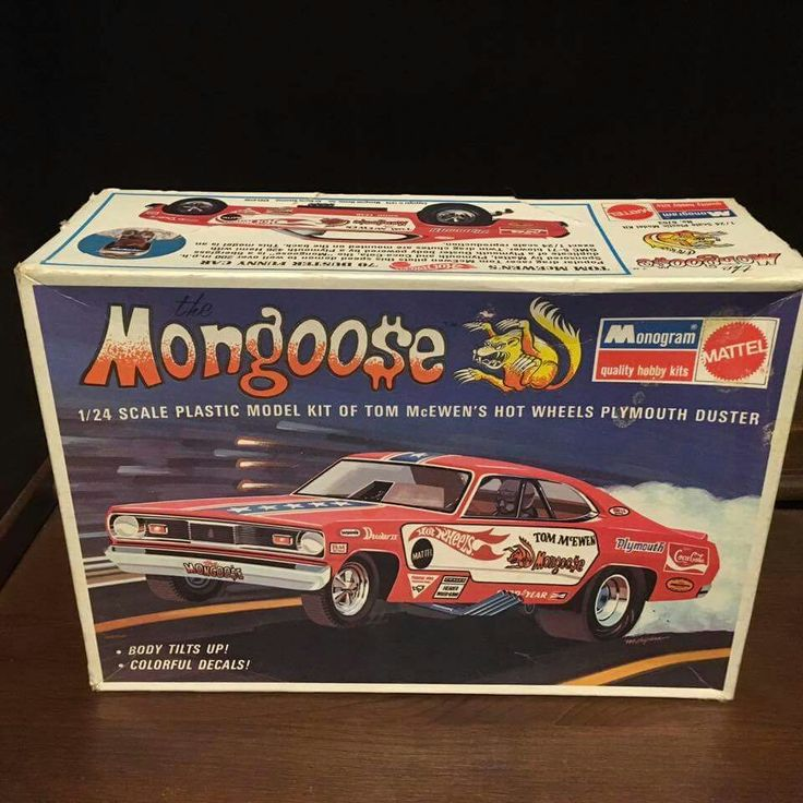 Monogram Mongoose Mopar model