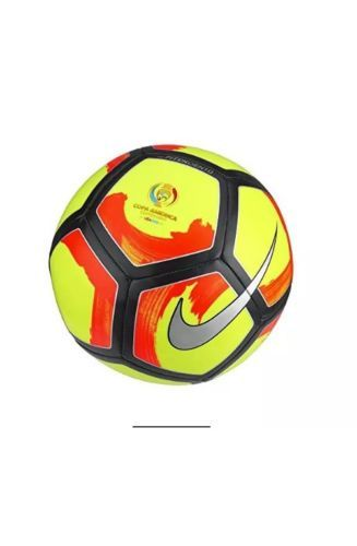 Other Soccer Clothing and Accs 159179: Nike Pitch Ciento Copa America Centenario Soccer Ball Size 3 -> BUY IT NOW ONLY: $32.99 on eBay!
