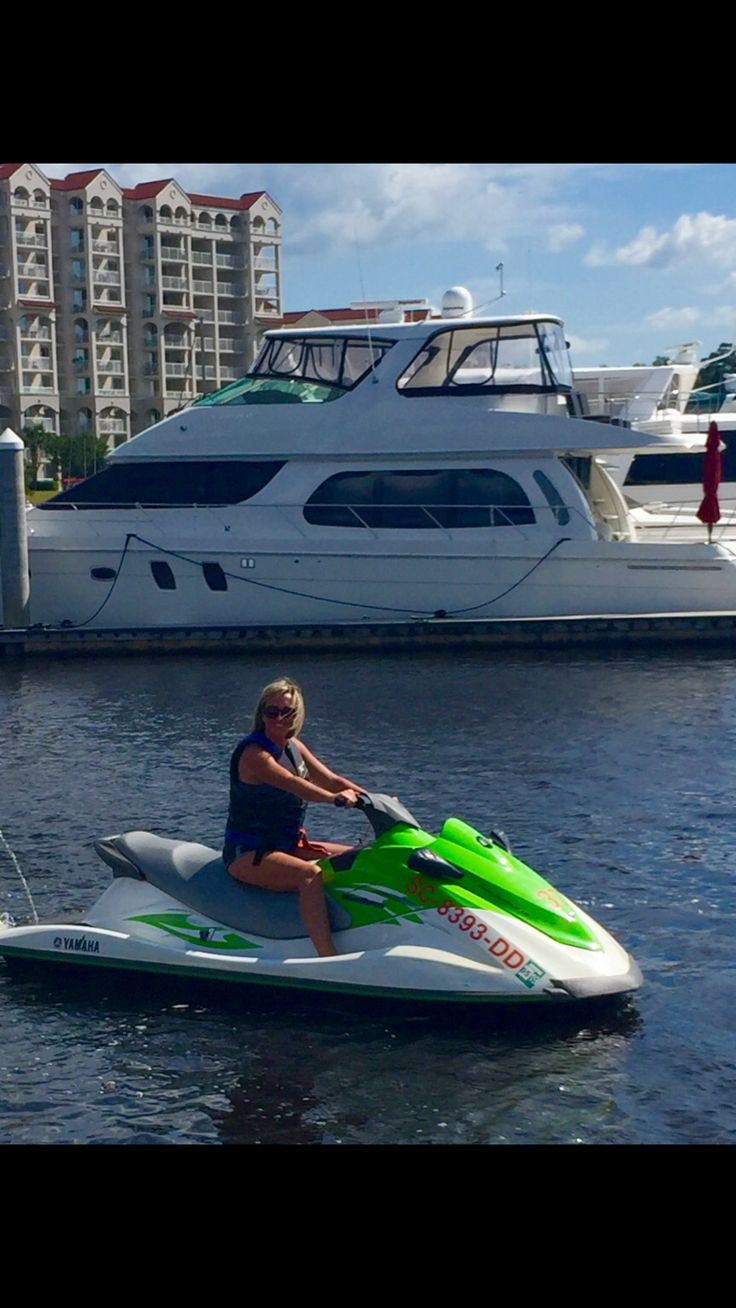 Water Sportz, Barefoot Landing, Myrtle Beach SC Friendly service, reasonable prices, exciting dolphin tour, a memory to treasure!