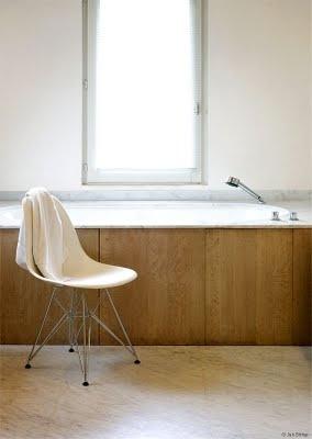 bathroom: Dining Room, Kitchens Chairs, Bathroom Interiors, Plastic Chairs, Bath Panels, Bathroom Eames, Vitra Eames Dsr, Ray Eames, Side Chairs