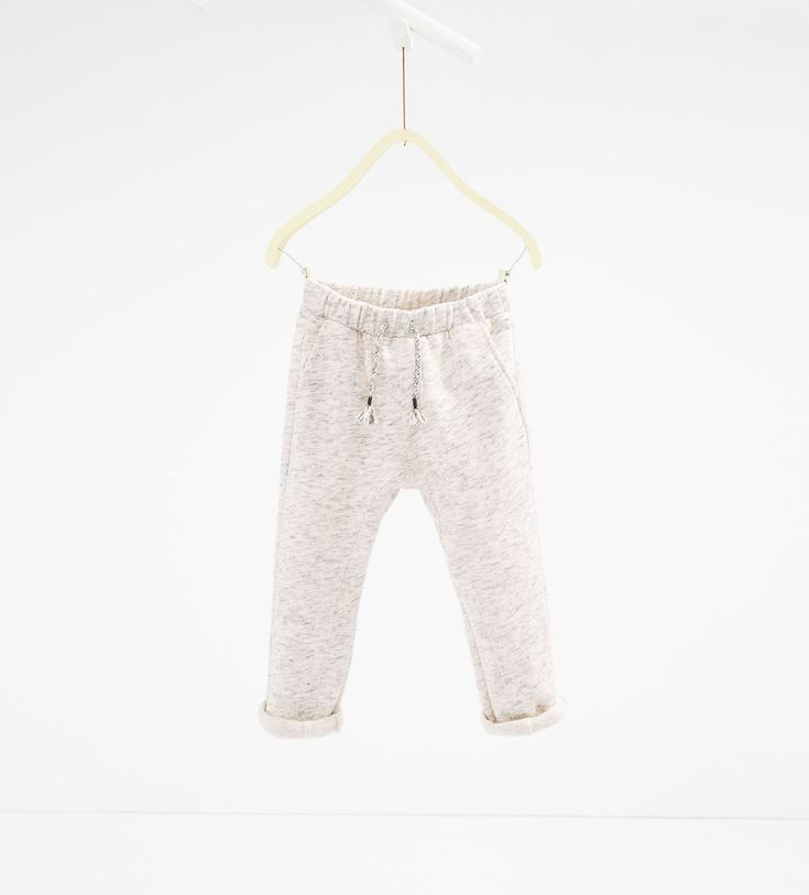 Grey marl trousers-LEGGINGS AND TROUSERS-GIRL | 4-14 years-KIDS | ZARA United States
