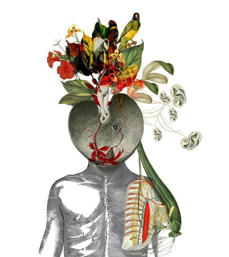 Una composizione di disordine osseo, dove scorre emotività all'interno di un tronco basilare. Lungo il perimetro delle arterie, cucite a mano dall'artista, il colore diventa punto di sutura per chiudere i segni a parole, voce dell'immaginario organico. CONDOTTO SORDASTRO racconta le emozioni come organi intangibili che, per trovare corpo, abitano altri organi modificandoli. Linguaggio compositivo del Collage artistico eterogeneo che da vita ad un lavoro intimo e interiore, ma al contempo…