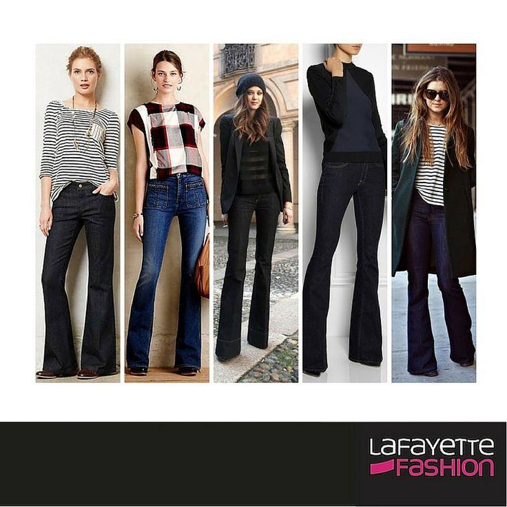 El pantalón bota campana se impone para este invierno, entérate todas las tendencias para esta temporada