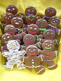 Receta de galletas de jengibre, gingerbreadmen, hombrecitos de jengibre