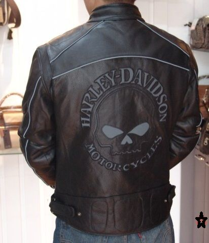 Harley Davidson Leather Biker Jackets for Men 2012 Trends Pictures
