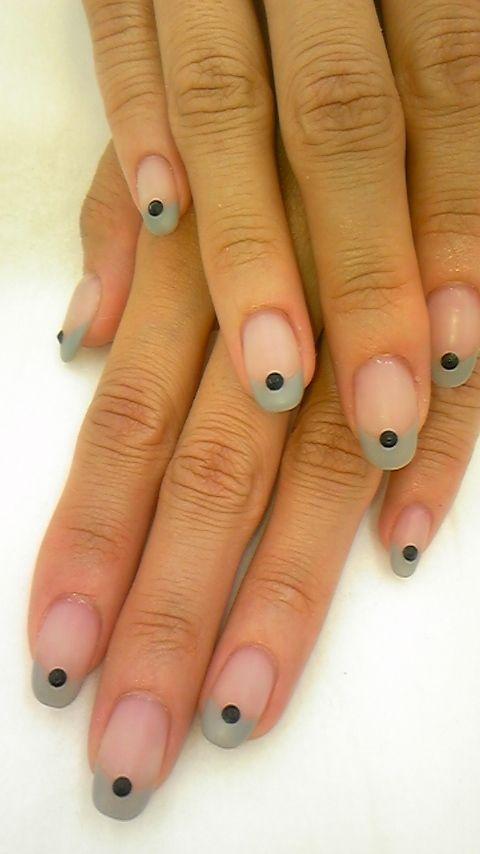 Nail Art - Nail Salon blog ~ AmebaGG daily es nail ...   images of tie-dyed stripe nail ♪ ×