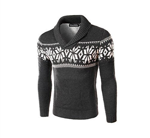 """Product review for Huafeiwude Mens Christmas Reindeer Snowflake Printed Knitted Sweater.  Huafeiwude Mens Christmas Reindeer Snowflake Printed Knitted Sweater       Famous Words of Inspiration...""""Our greatest happiness does not depend on the condition of life in which chance has placed us, but is always the result of a good conscience, good health, occupation,..."""