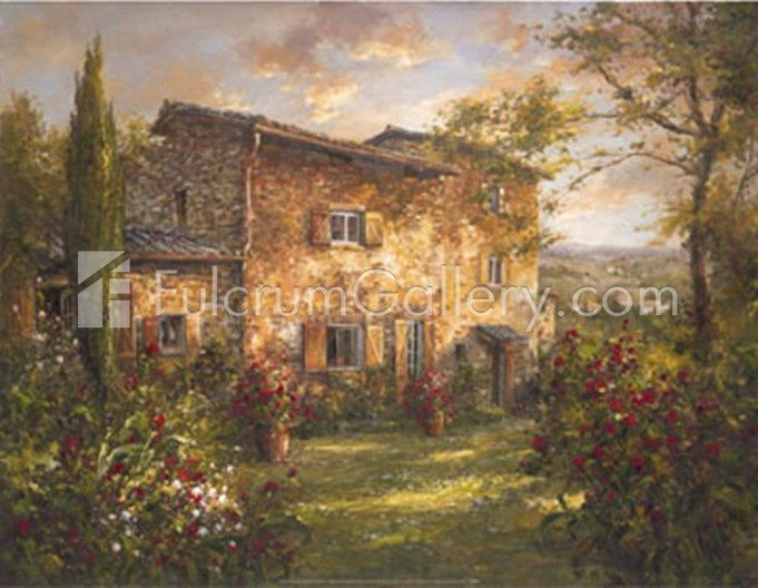 Tuscan Farmhouse Fine Art Print by Unknown at FulcrumGallery.com