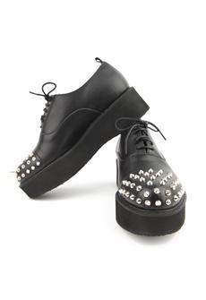Round Stud Punk Shoes