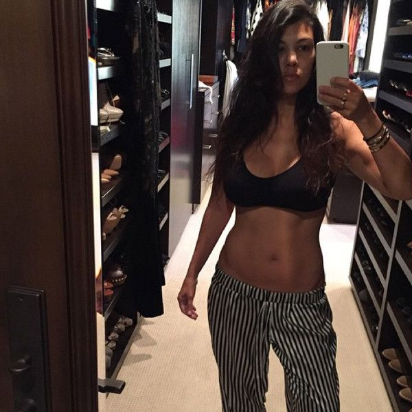 Kourtney Kardashian's Trainer Dishes On the Workout Method She Swears By, Reveals How She Bounced Back After Baby No. 3   E! Online Mobile
