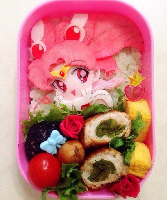 • bento sailor moon Food Art sailor moon bento anime bento sailor-moon-rei •