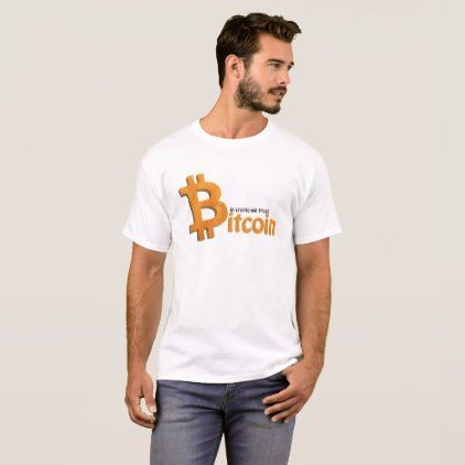 Bitcoin crypto nerd shirt - in crypto incoming - fun gifts funny diy customize personal