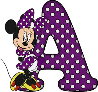 ShoppingAlfabetoDecorativo.: Alfabeto - Minnie 29 - PNG - Letras - Maiúsculas, ...