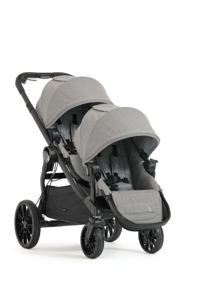 city select® LUX | BabyJoggerUSAStore- coverts from single to double stroller