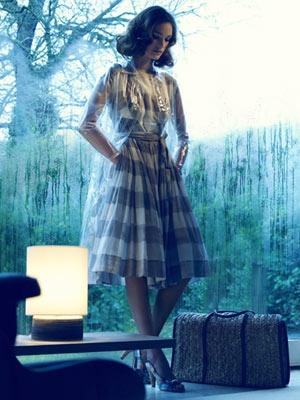 plaid liz claiborne dress