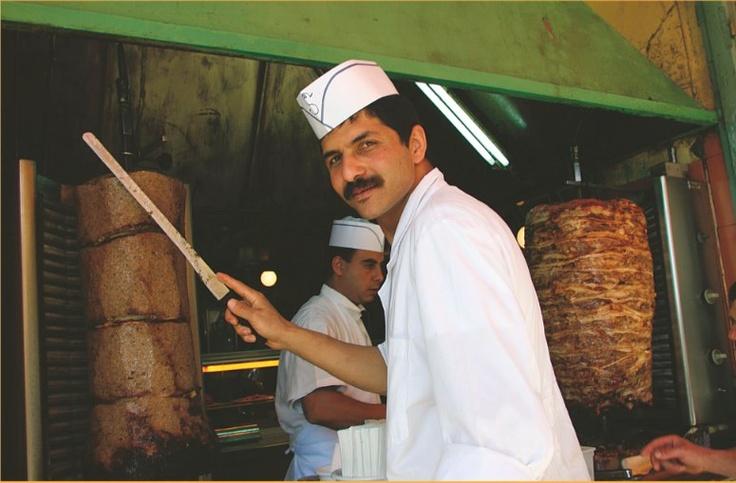 Monastiraki (cover of 'Street Food' featuring photos by Ilias Bourgiotis)