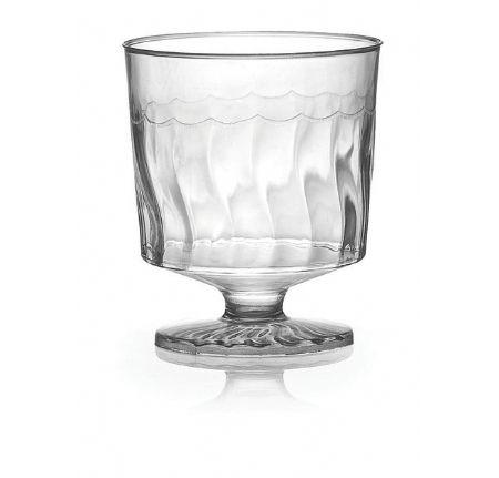 Posh Party Supplies - Elegant Plastic 2 oz Wine Glasses - 10 Glasses, $1.99 (http://www.poshpartysupplies.com/posh-products/plastic-cups-glasses/plastic-wine-and-champagne-glasses/elegant-plastic-2-oz-wine-glasses/)