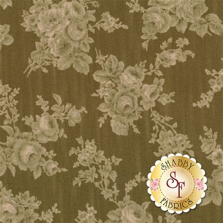 Antique Rose 31301-60 by Lecien Fabrics: Antique Rose Spring 2016 is a beautiful floral collection by Lecien Fabrics.Width: 43