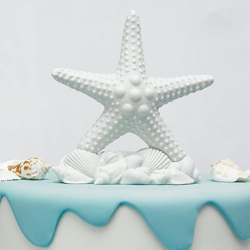 Starfish Cake Topper by Beau-coup
