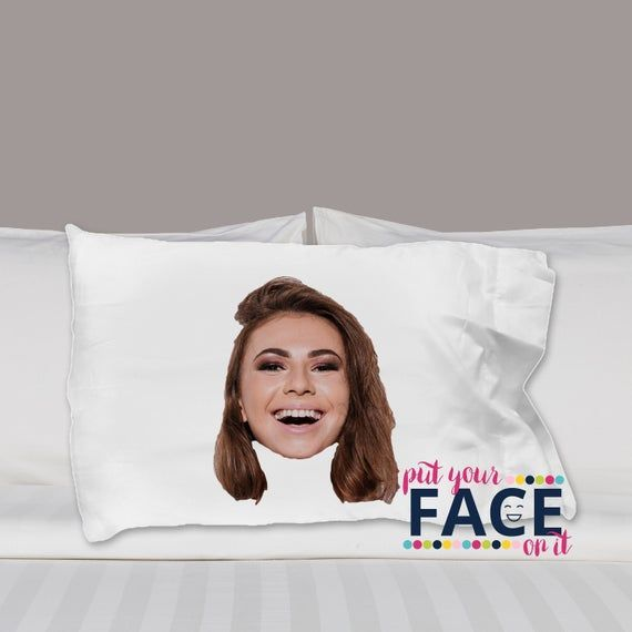 personalized custom face pillow case