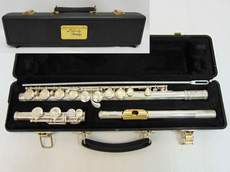Liberty Armstrong Flute with case #Liberty