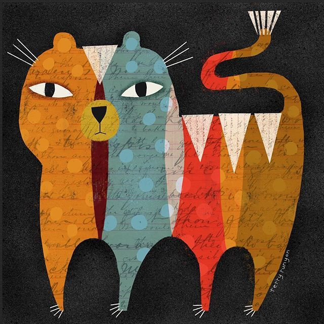 Rainbow Tiger. 🐯🐯🐯 •shop link profile• #tiger #tigerlove #cats #catillustration #catsofinstagram #tigerart #catart #catoftheday #cats_of_instagram #animal #animalsofinstagram #shop #shopping #shoponline #gift #gifts #giftideas #animals #illustration #homedecor #homegoods #prints #art #terryrunyan #picame #illustrationartists #art_we_inspire #thedesigntip