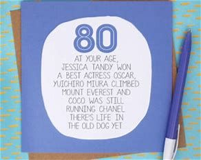 Image Result For 80th Birthday Poems Funny Birthday