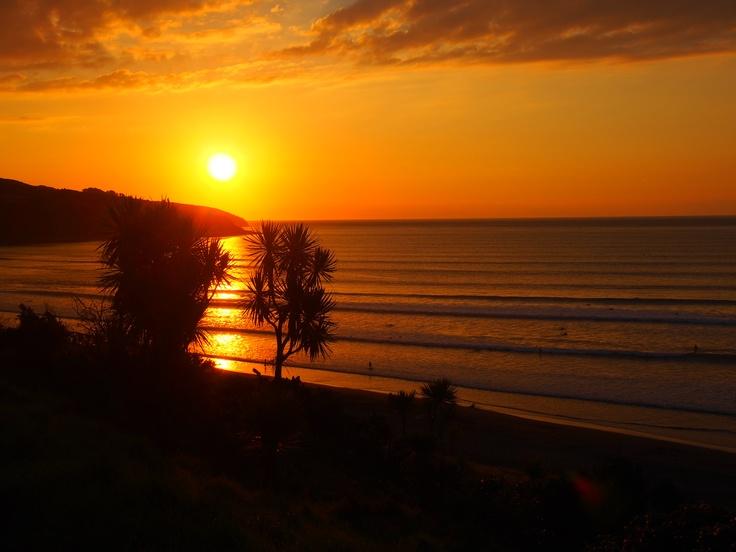 39. Watching beautiful SUNSETS near the ocean.