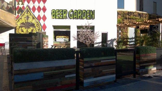 Plaza Las Vegas Beer Garden Trip Reports Pinterest Gardens Trips And