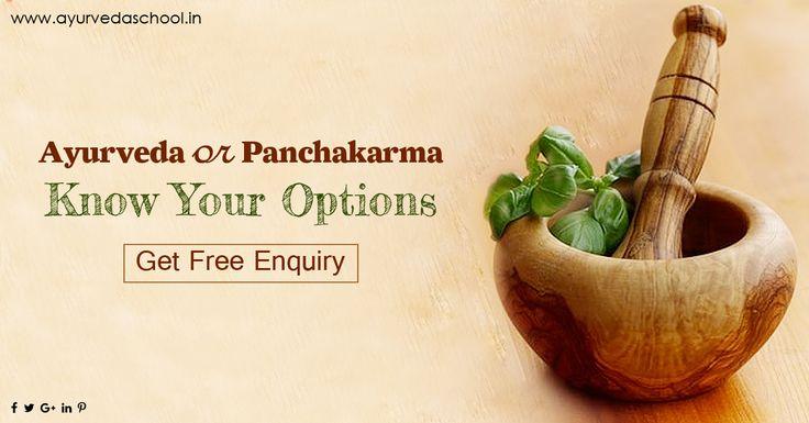 Know your Options #ayurveda #panchakarma #treatment #courses http://ayurvedaschool.in/Ayurvedic-Panchakarma-Treatment.html
