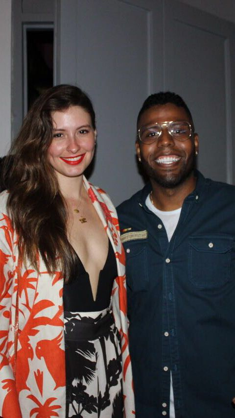 Seguimos sonriéndole a la vida. Con la hermosa y talentosa @talianav 🇨🇴 #ElementBlack