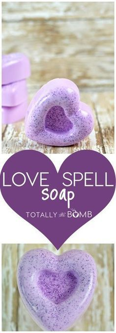 I had to find a way I could incorporate this smell into my life like daily and that is when I came up with an idea to make Homemade Love Spell Soap. #soap #recipe #beauty #soaprecipe