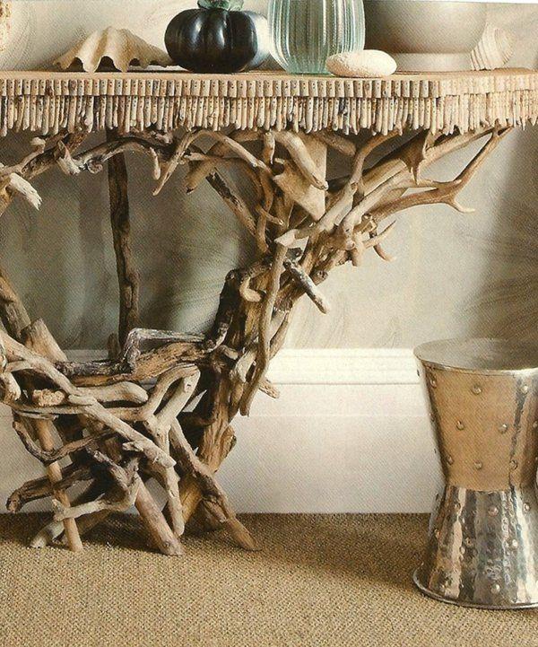 Treibholz Tisch Wohnzimmertisch Selber Bauen Design