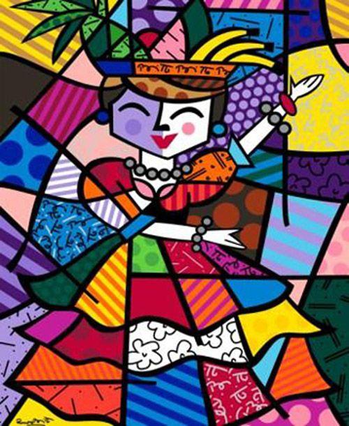 Colors colors colors. Romero Britto