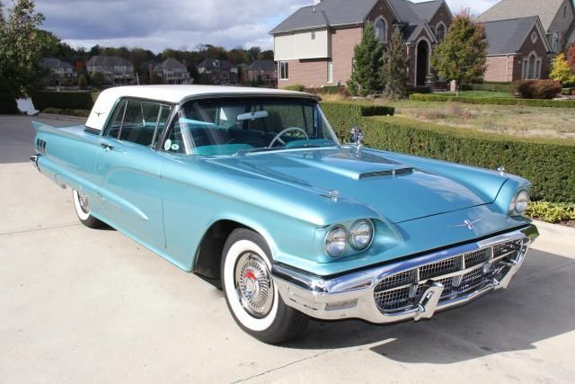Beautiful 1960 Ford Thunderbird In Sultana Turquoise Body