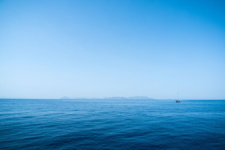 Sail away - Aegean sea, where Greek islands are.