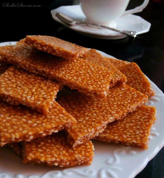 Słodka Strona: Domowe Sezamki