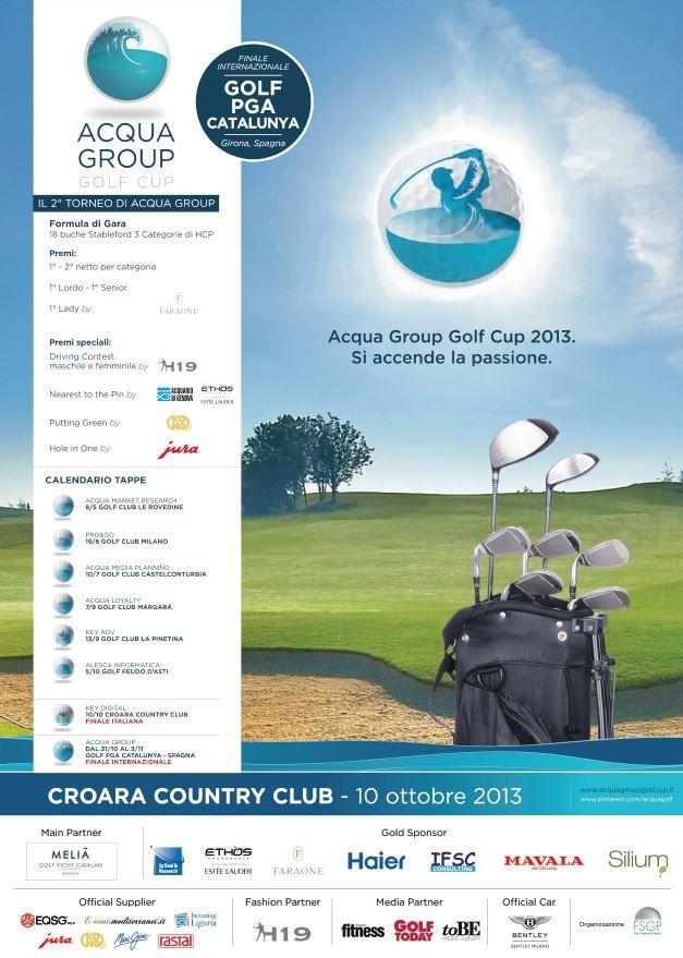 Locandina Croara Country Club, 10.10.13