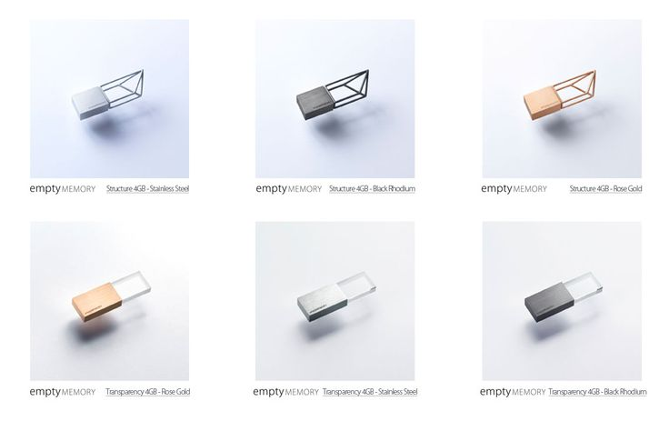 Empty Memory is a design USB Flash Drive by Logical Art