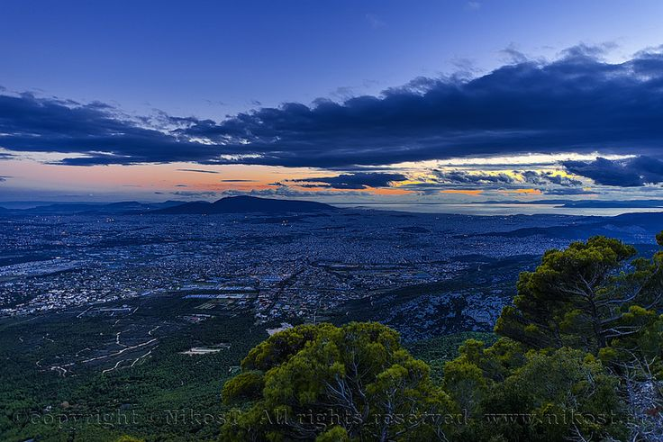 Mount Parnitha.