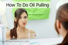 Oil pulling is an easy way to detoxify your body and improve your health. There are also many more oil pulling benefits. Oil pulling has helped my acne