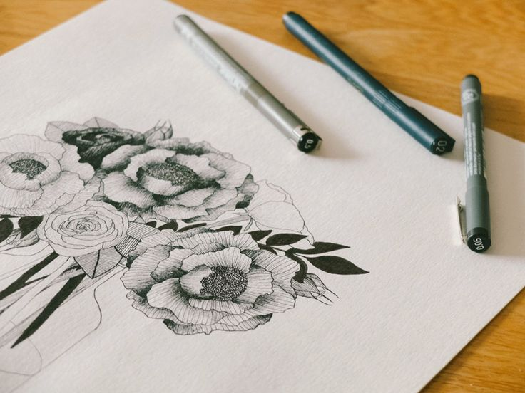 How to tka eup drawing as an adult. Learn to illustrate. BLOMSTRANDE   Börja teckna   http://blomstrande.com