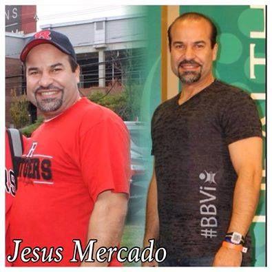 Jesús Mercado ha logrado perder más de 50 libras con El Challenge. Su salud y su energía han mejorado notablemente. Él ha ayudado a inspirar a muchas personas en su comunidad ¡Felicitaciones por estos #ViResultados!
