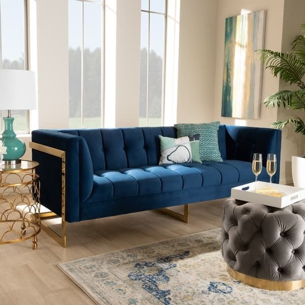 Our Best Living Room Furniture Deals Velvet Sofa Living Room Blue Velvet Sofa Living Room Blue Sofas Living Room