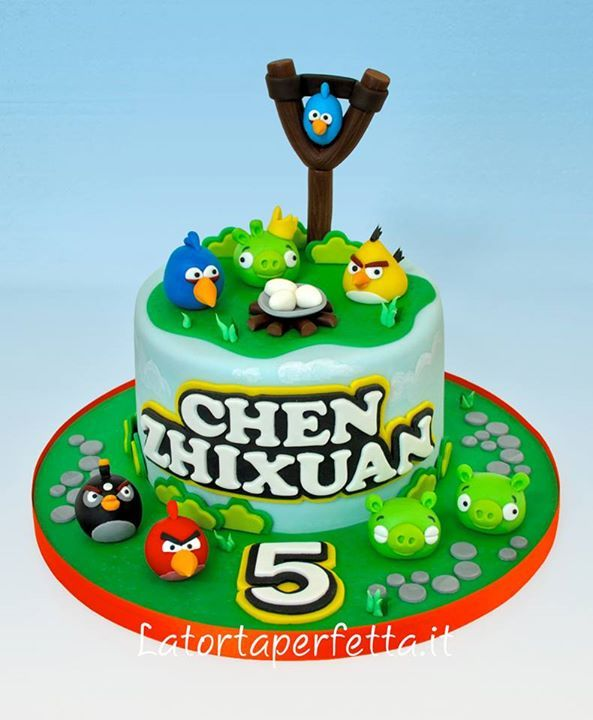 135 best Cakes Angry Birds images on Pinterest Angry birds