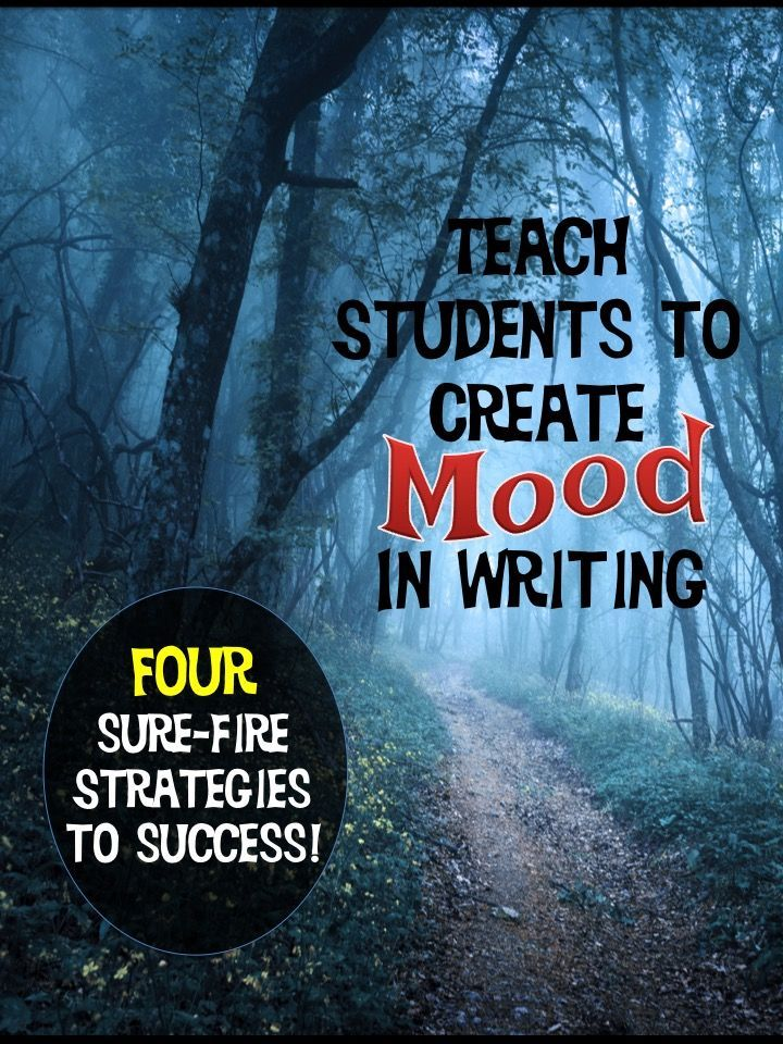 Knowing how to create mood in writing is often something students struggle with. Find four instruction tips to use when teaching mood, plus videos and links to picture sites!